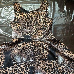 Children's Place girls animal pattern size dress